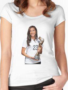 Christen Press - World Cup Women's Fitted Scoop T-Shirt