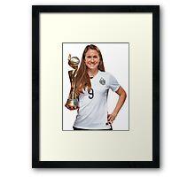 Heather O'Reilly - World Cup Framed Print
