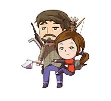 the last of us chibi Photographic Print