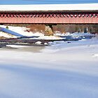 Thompson Covered Bridge by smalletphotos