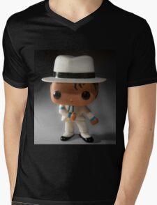 Smooth Criminal Mens V-Neck T-Shirt