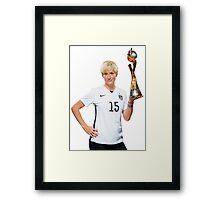 Megan Rapinoe - World Cup Framed Print