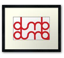 dumb dumb red velvet Framed Print