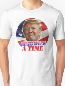 Trump One Less Mexican a Time T-Shirt