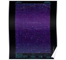 USGS Topo Map Oregon Cook Creek 279427 1984 24000 Inverted Poster
