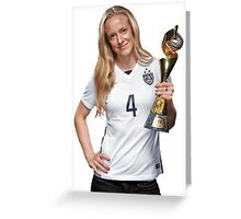 Becky Sauerbrunn - World Cup Greeting Card
