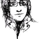 scribbler self portrait 1st attempt by Xtianna