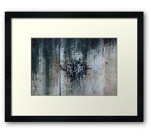 Urban Expolsion Framed Print