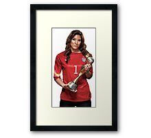 Hope Solo - World Cup Framed Print