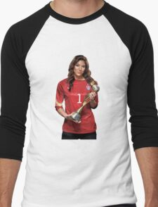 Hope Solo - World Cup Men's Baseball ¾ T-Shirt