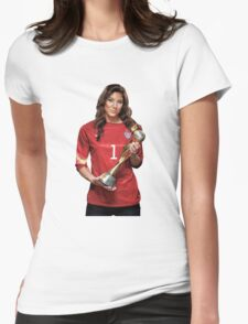 Hope Solo - World Cup Womens Fitted T-Shirt