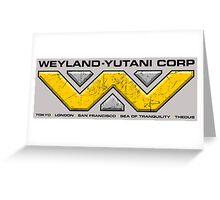 Weyland-Yutani Corp Greeting Card