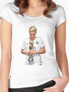 Abby Wambach - World Cup Women's Fitted Scoop T-Shirt