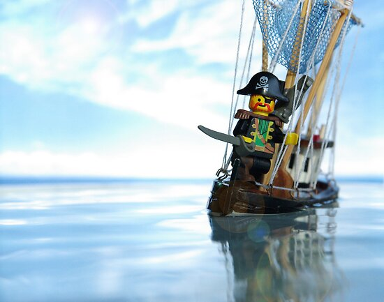 Pirate of the Bathtub by Shobrick