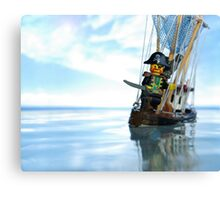 Pirate of the Bathtub Canvas Print