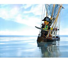 Pirate of the Bathtub Photographic Print