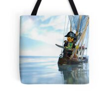 Pirate of the Bathtub Tote Bag