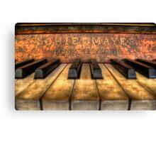 Schiedmayer Piano - HDR Canvas Print