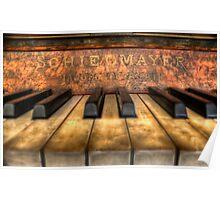 Schiedmayer Piano - HDR Poster