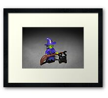 Wacky Witch Framed Print