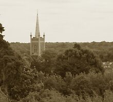St Michaels Church Spire - Bishops Stortford by Nick Martin