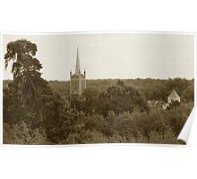 St Michaels Church Spire - Bishops Stortford Poster