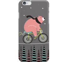 Night ride iPhone Case/Skin