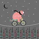 Night ride by mjdaluz