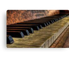 Schiedmayer Piano 2 - HDR  Canvas Print