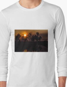 Sunset in the Ibera Long Sleeve T-Shirt