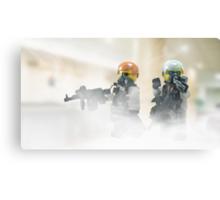 Lego Bank robbers Canvas Print