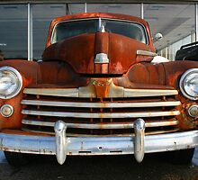 Rusty Ford by Michael  Herrfurth