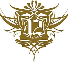 Number 12 Tattoo typographic by orangebox