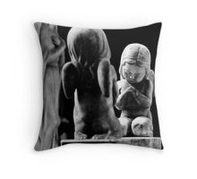 Little Angels Throw Pillow