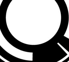 Section 9 (black print) Sticker