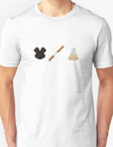 Disneyland Minecraft Food Items T-Shirt
