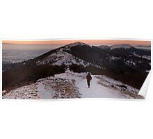 Walking the Malverns Ridge Poster
