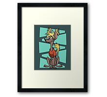 Guiness Crestie Framed Print