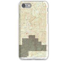 USGS Topo Map Oregon Groundhog Mountain 280110 1997 24000 iPhone Case/Skin