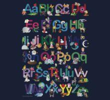 Alphabet for kids One Piece - Short Sleeve