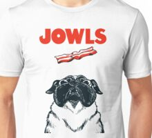 JOWLS Pug Movie Poster Parody Unisex T-Shirt