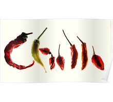 Chilli Heaven - The best of this season's dried chillies Poster