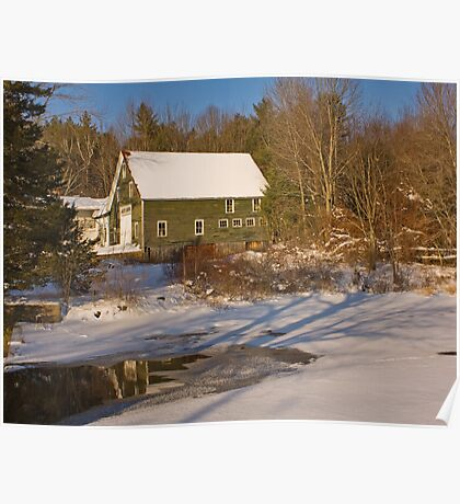 The Green Barn Poster