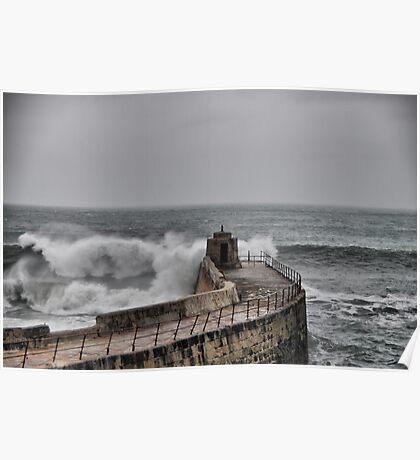 High tide Poster