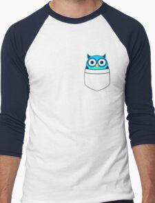 Pocket owl Men's Baseball ¾ T-Shirt