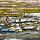 Seaweed Farmers at Nusa Lembongan by JohnKarmouche