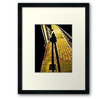 Stones taught me to fly Framed Print