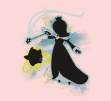 Super Smash Bros. Rosalina Silhouette Kids Tee