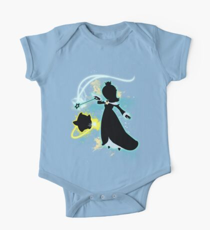 Super Smash Bros. Rosalina Silhouette One Piece - Short Sleeve