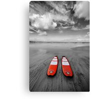 Paddle Boards Canvas Print